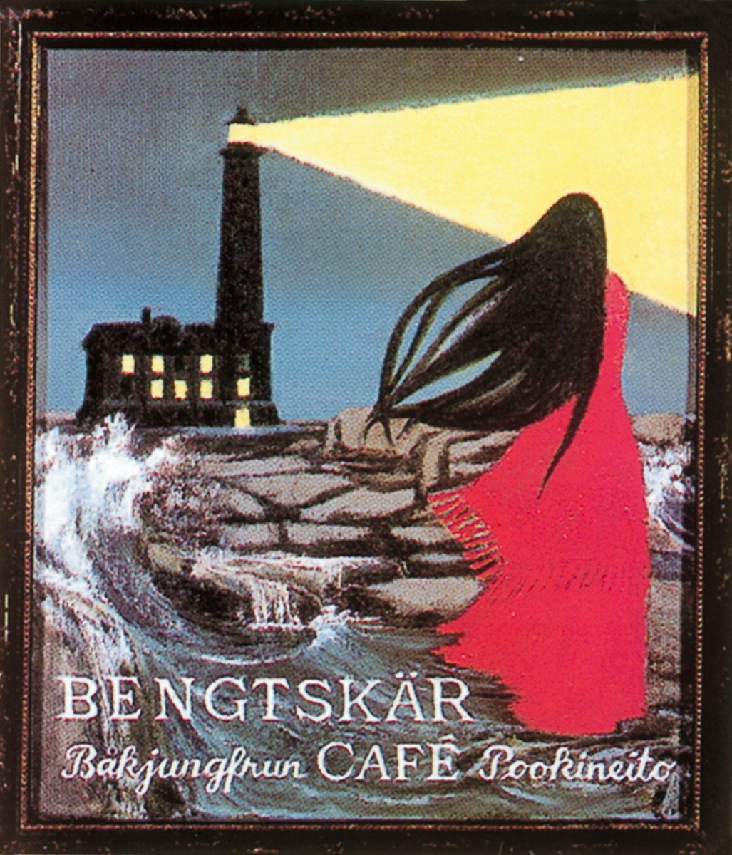 Picture of the Bengtskär Coffee label.