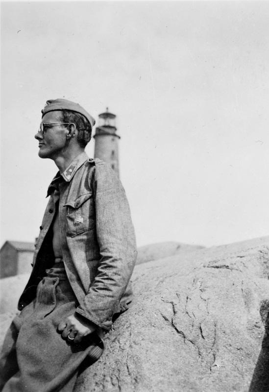 Foto av soldat.