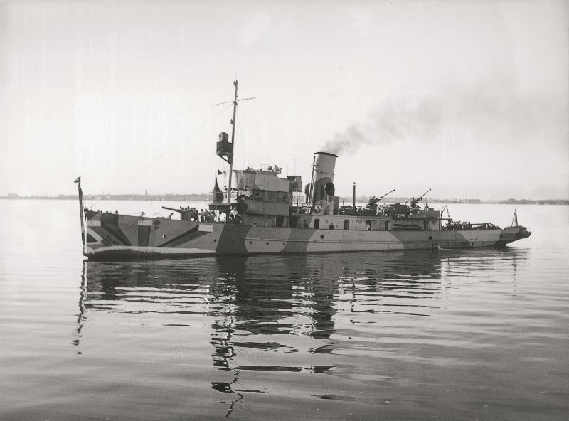 Photo of minelayer (ship).