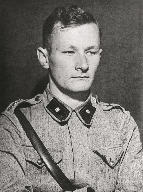 Foto av Löjtnant Fred Luther.